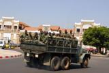 Senegal army truck, Dakar
