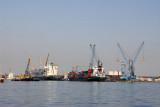 Container terminal, Port of Dakar - Nedlloyd Valentina & Delmas Portugal