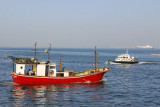 Fishing boat Sine Saloum, Dakar