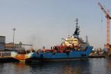 Maersk Launcher, Port of Dakar
