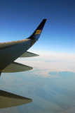 Icelandair 757 over Iceland