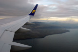 SW Iceland on approach to Keflavik