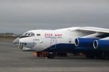 Silk Way Azerbaijan Cargo IL-76 at Keflavik (KEF/BIKF)