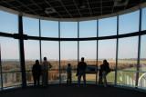 Obervation area of the Udvar-Hazy Center tower