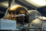Space helmet (reflecting the Space Shuttle)