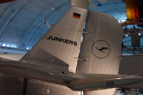 Lufthansa Junkers Ju-52 tail section