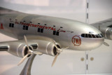 Boeing 307 Stratoliner model in TWA livery