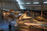Vietnam-era end of the main hangar