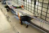 Halberstadt CL.IV (German) and Spad XVI flown by Billy Mitchell