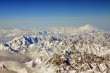 Caucasus Mountains, Russia-Georgia with Mount Elbrus