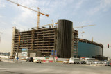 New headquarters building for Emirates Airline under construction