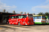 Delima Ekspres bus from Singapore to Melaka in 4 1/2 hrs