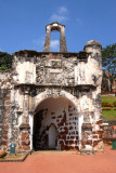 Porta de Santiago, the only remains of the Portuguese fortress A'Famosa 1512