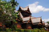 Muzium Budaya, reconstruction of the 15th C. wooden palace of the Sultan of Melaka
