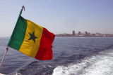 Leaving Dakar for the short boat ride to Gorée