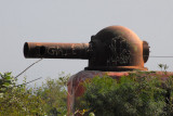 World War II gun, Castel of Île de Gorée