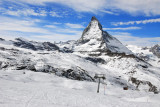 Zermatt ski terrain is for the most part beginner-intermediate (except Stockhorn)