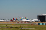 Widebodies from distant corners of the Commonwealth, London-Heathrow