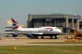 British Airways Boeing 747-400 at LHR