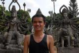 Kuay at Buddha Park