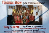 Yensabai Show - Traditional Lao Dancing daily at 5:30 in Vientiane