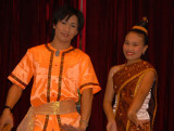 Traditional Lao dancing