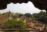 View of Buddha Park