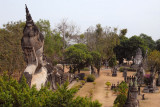 A large reclining Buddha dominates the view