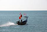 Long-tail boat, Koh Samui