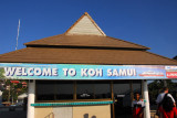Welcome to Koh Samui, Gulf of Thailand