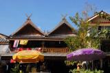 Touristy shops outside the Big Buddha Temple