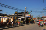The main street of Chaweng is, for the most part, quite ugly