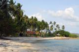 Beach along the southern coast of Koh Samui