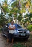 Adam with his truck, Koh Samui
