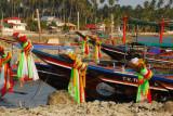 Decorated boats, Thong Krut, Koh Samui