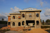 Another new villa under construction on Koh Samui