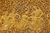 Detail of the Royal Funary Carriage House, Wat Xieng Thong