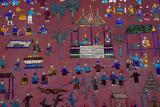 Mosaic detail, Wat Xieng Thong, Luang Prabang