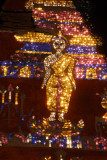 Mosaic Buddha detail, Wat Xieng Thong