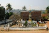 The Wat across from the Sok Xai Guesthouse, Luang Prabang