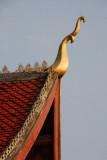 Wat Mai Suwannaphumaham roof detail jao faa