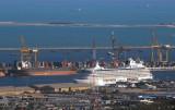 Cruise ship at Port Rashid