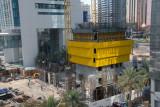 Al Yaqoub Tower early construction