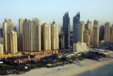 Jumeirah Beach Residence and Al Futtaim Marine Towers