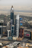 Sheikh Zayed Road aerial Mar 07