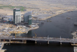 The new Ras Al Khor Bridge (Business Bay Crossing) to Festival City