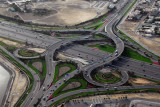 Interchange on Sheikh Zayed Road at the Mall of the Emirates