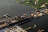 The new Garhoud Bridge under construction