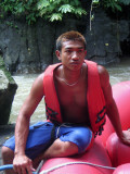 The rafting guide