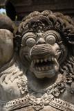 Temple guardian detail, Tanah Lot
